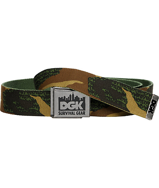 DGK Camouflage Survival Belt
