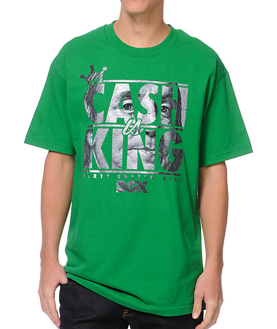 DGK Cash Is King Kelly Green T-Shirt