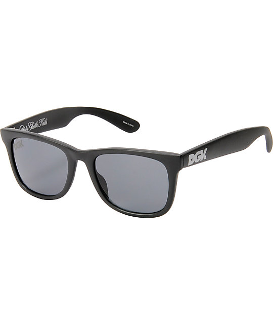 DGK Classic Black Out Sunglasses