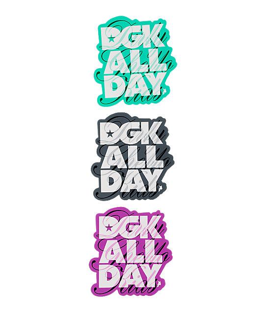DGK Classic Fence Sticker