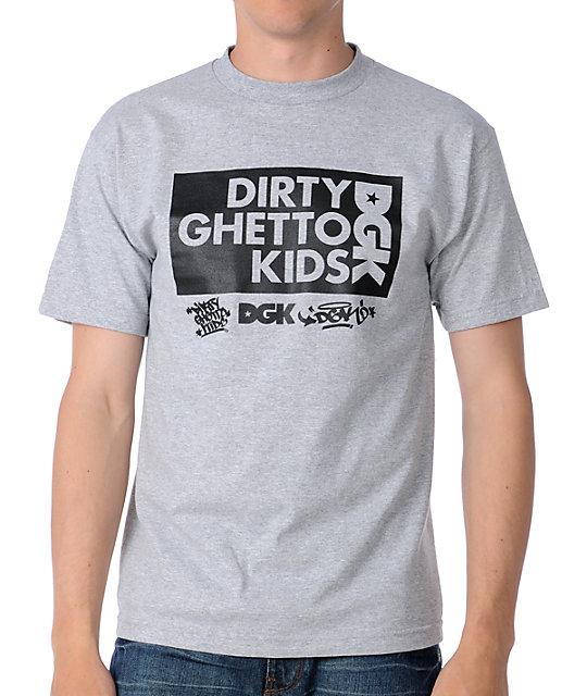 DGK Clean 2 Heather Grey T-Shirt