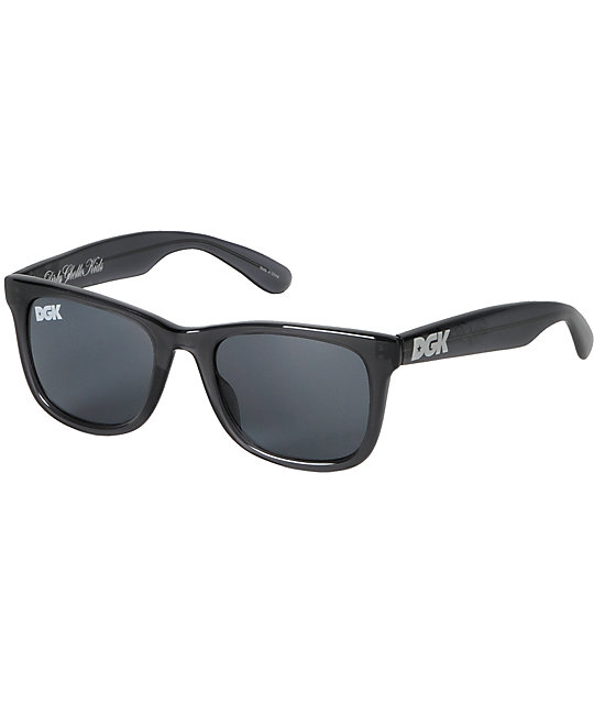 DGK Clear Charcoal Grey Shades