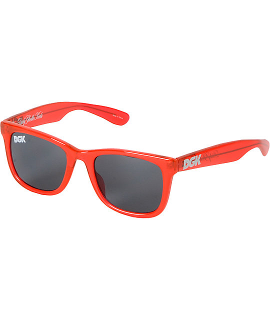 DGK Clear Red Shades