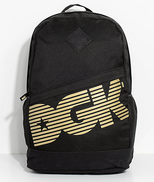 DGK Clutch Black Backpack