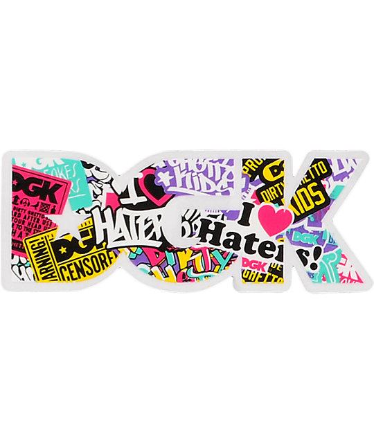 DGK Collage Logo Sticker