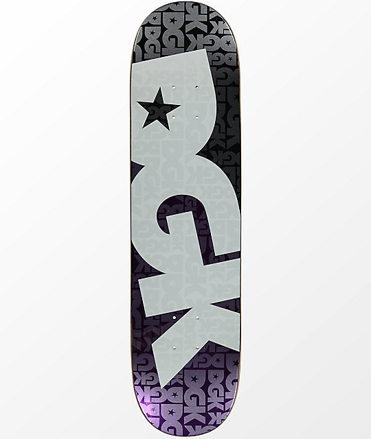 """DGK Contrast Purple Foil 7.8"""" Skateboard Deck"""