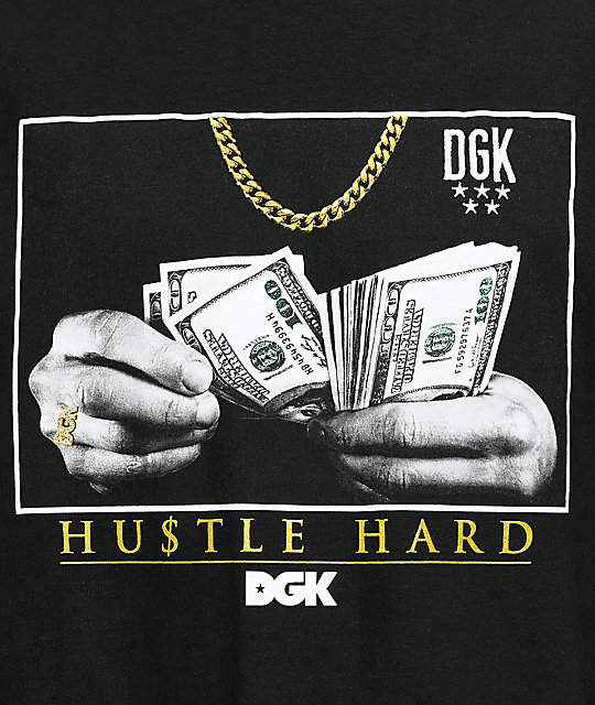 DGK Countin' Loot Black T-Shirt