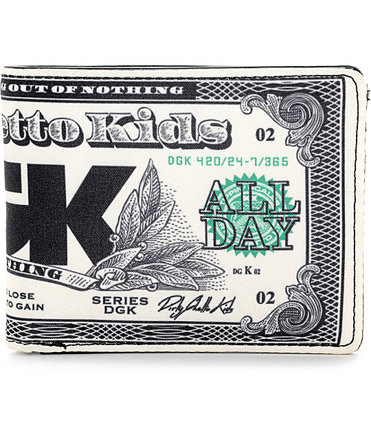 DGK Cream Bifold Wallet