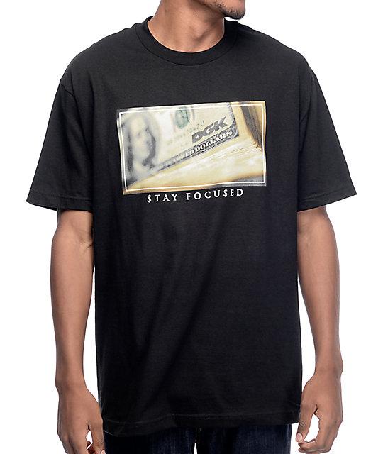 DGK Dollars Black T-Shirt