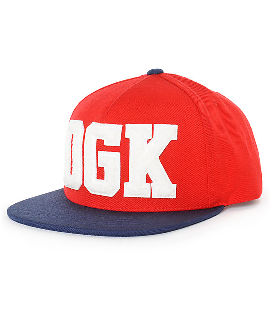 DGK Drop Out Snapback Hat