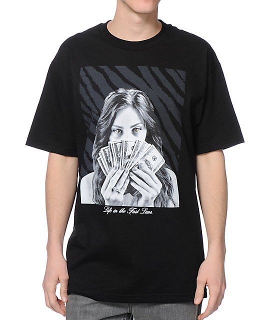 DGK Fast Lane Black T-Shirt