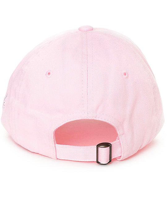 DGK Flatbush Polo Pink Strapback Hat