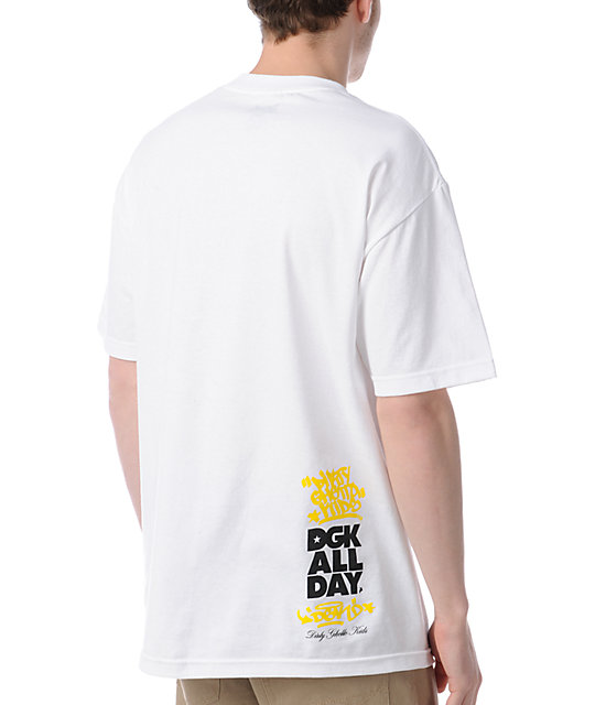 DGK For The Love White T-Shirt