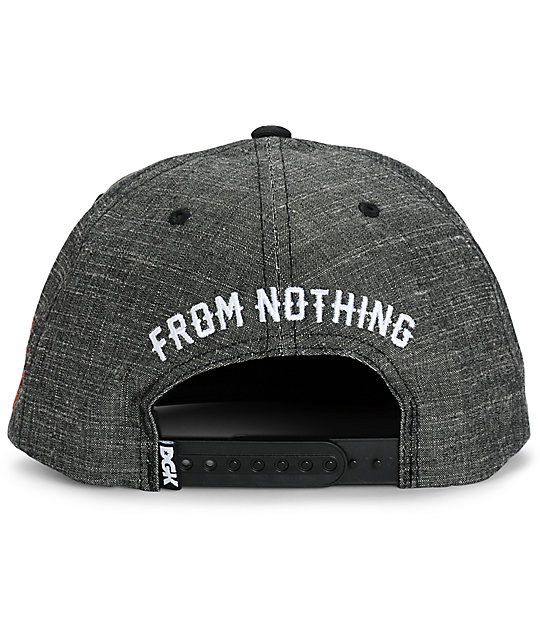 DGK From Nothing Snapback Hat