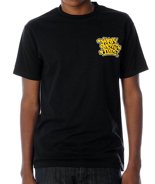 DGK Graff Black T-Shirt