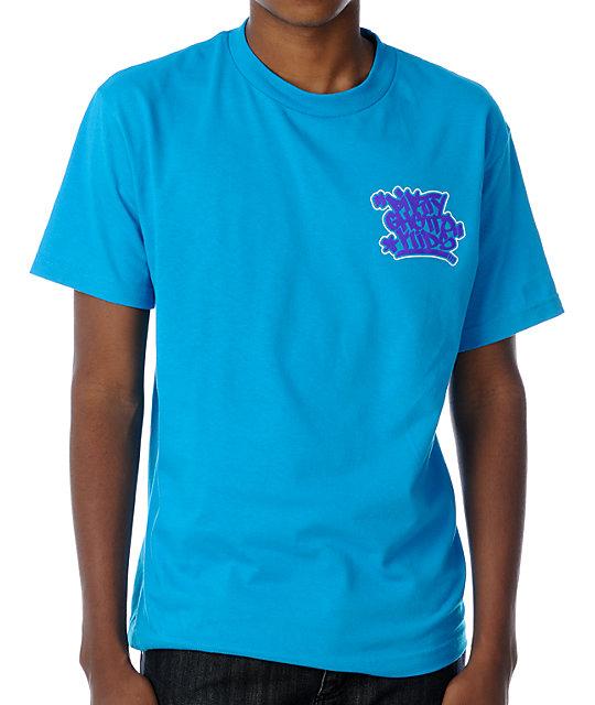 DGK Graff Turquoise T-Shirt