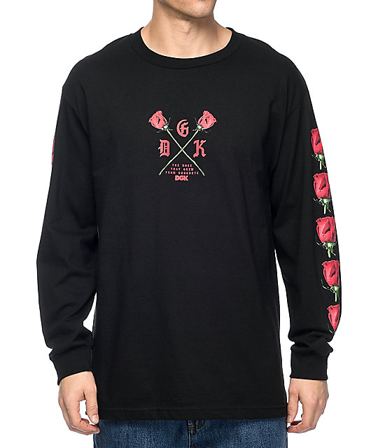 DGK Growth Black Long Sleeve T-Shirt