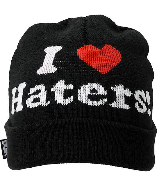 DGK Haters Black Beanie