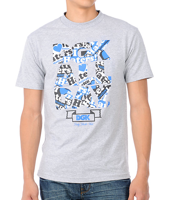 DGK Haters Collage Grey T-Shirt