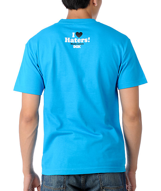 DGK Haters Collage Turquoise T-Shirt