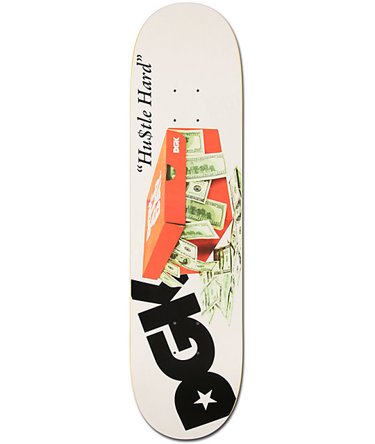 "DGK Hustle Hard 8.06""  Skateboard Deck"