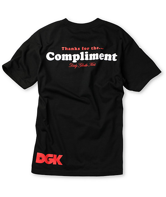 DGK I Love Biters Black T-Shirt