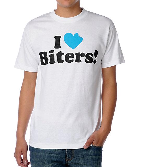 DGK I Love Biters White T-Shirt