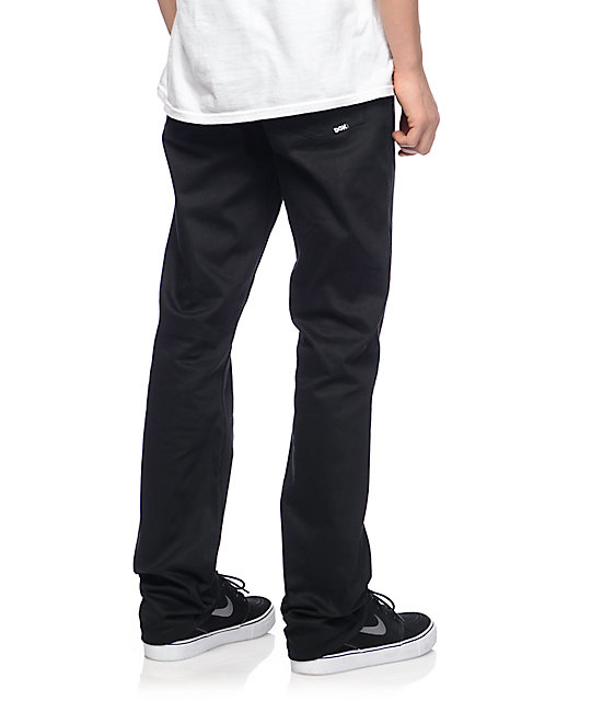 DGK Icon Stretch 2 Black Regular Fit Jeans