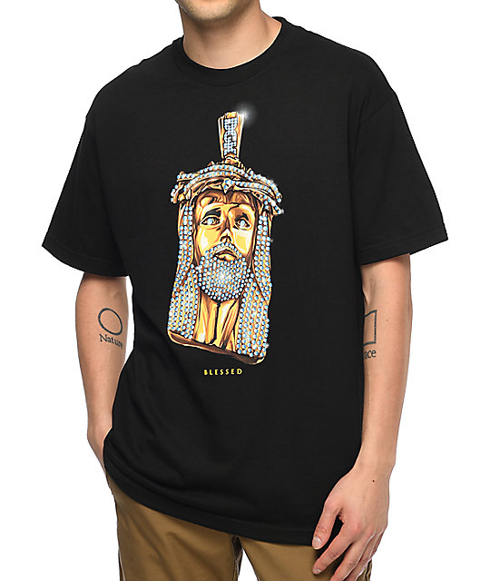 DGK Jesus Piece Black T-Shirt