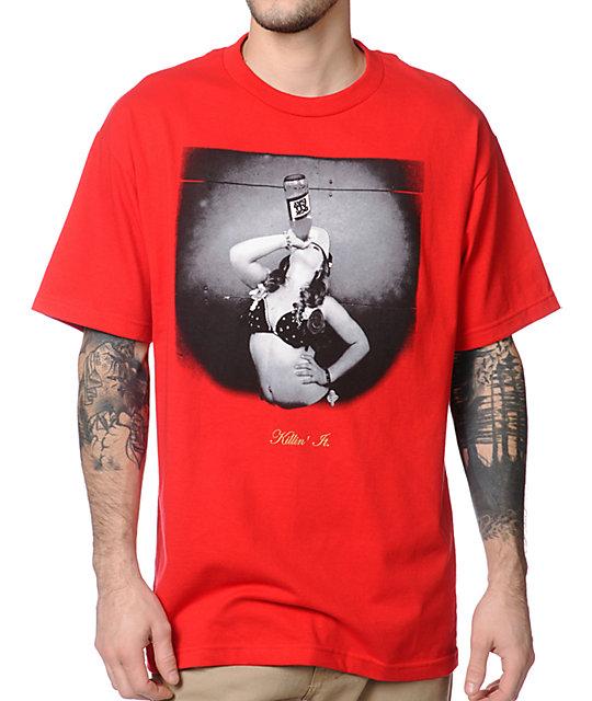 DGK Killn It Red T-Shirt