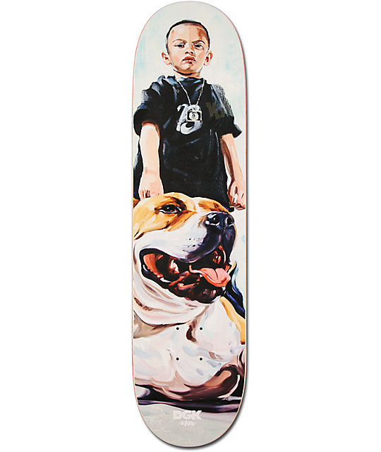 "DGK Mans Best Friend 8.06""  Skateboard Deck"