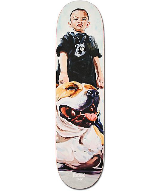 """DGK Mans Best Friend 8.06""""  Skateboard Deck"""