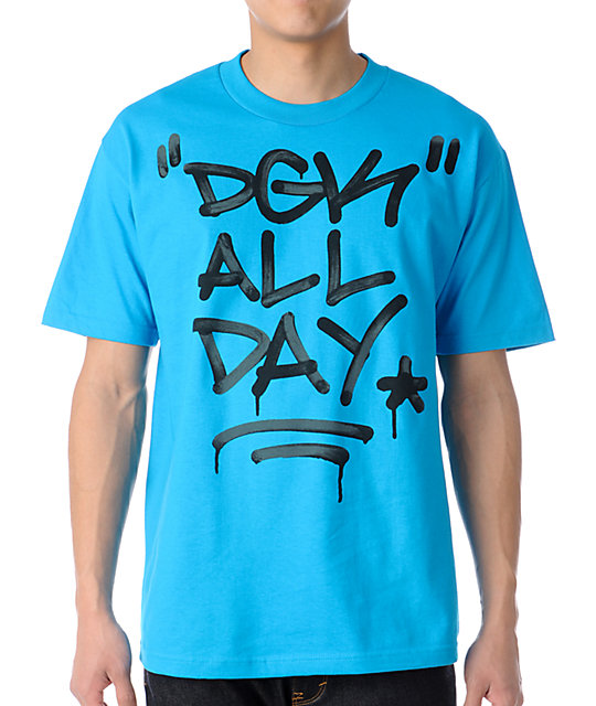 DGK Marked Up Turquoise T-Shirt