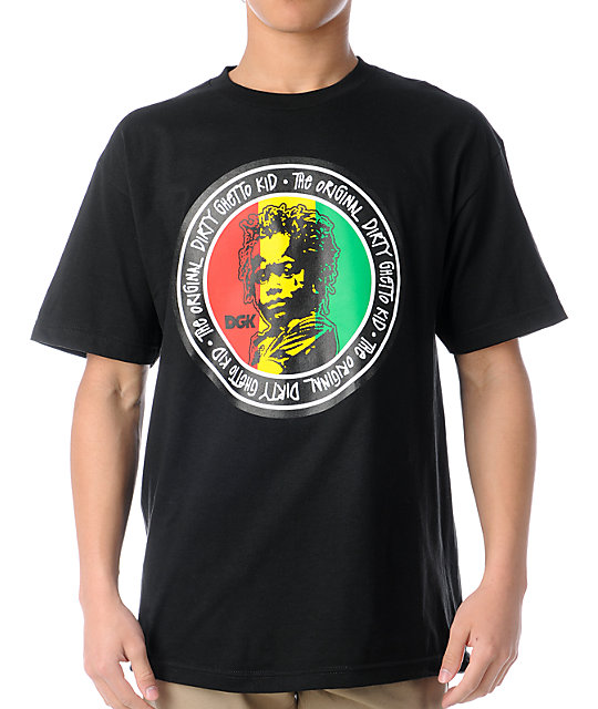 DGK Original Ghetto Kid Black T-Shirt
