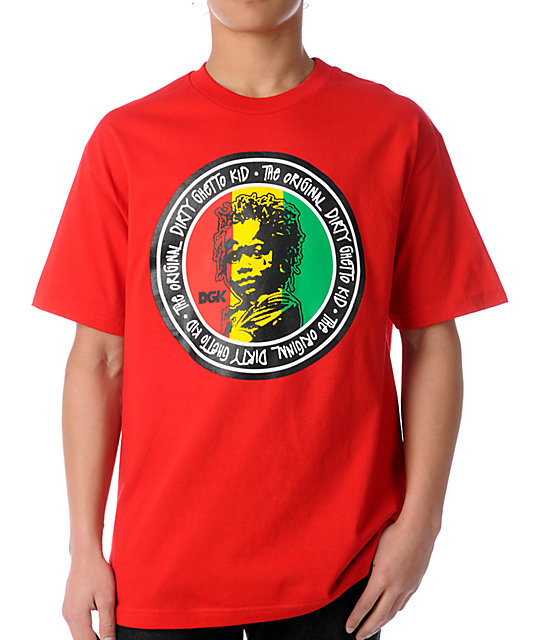 DGK Original Ghetto Kid Red T-Shirt