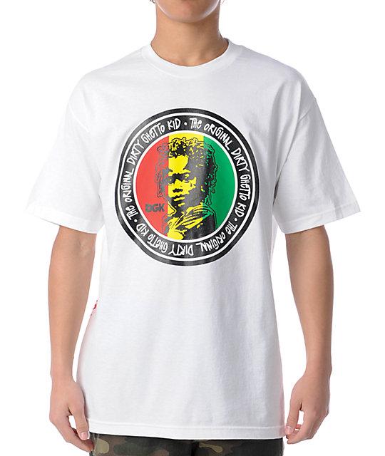 DGK Original Ghetto Kid White T-Shirt