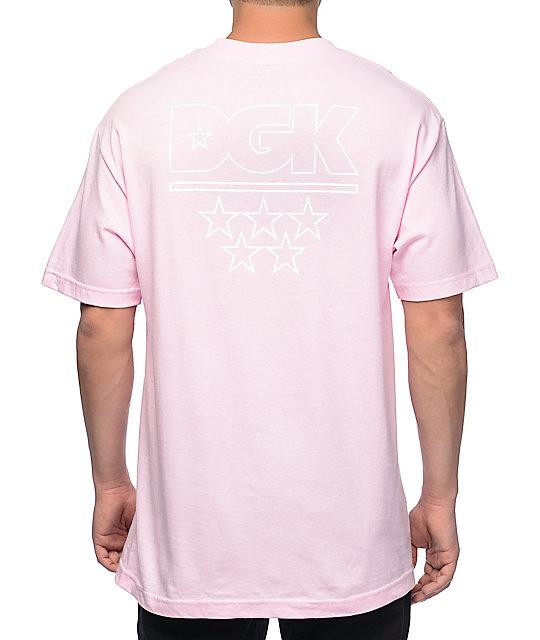 DGK Pastel Logo Pink T-Shirt