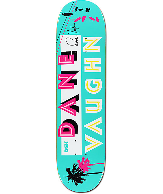 "DGK Rico Vaughn 7.8"" Skateboard Deck"