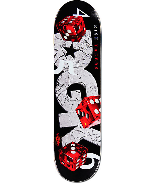 DGK Risk Takers 8.10&q... Zumiez Skateboards Dgk
