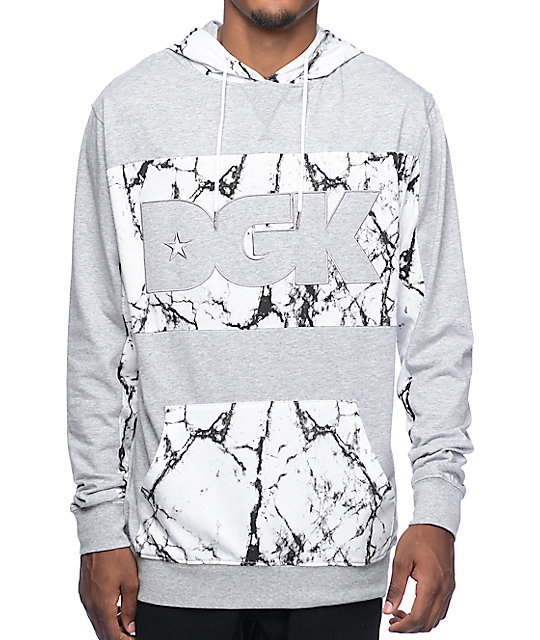 DGK Roman Grey Hooded Shirt