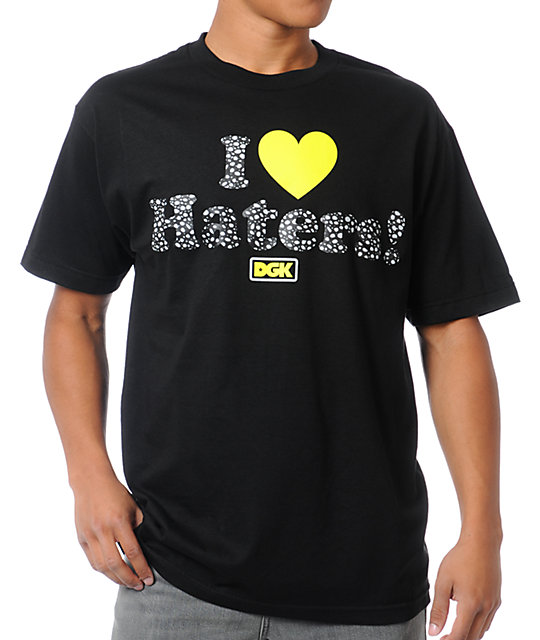 DGK Safari Haters Black T-Shirt