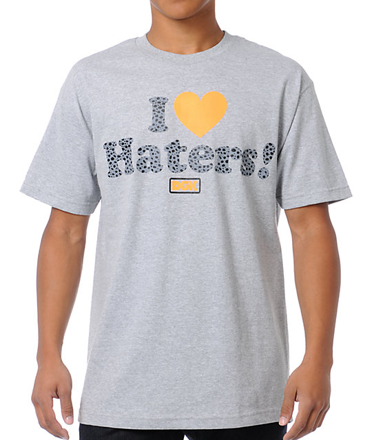 DGK Safari Haters Grey T-Shirt