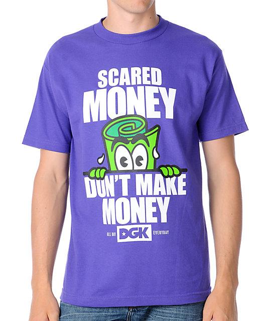 DGK Scared Money Purple T-Shirt