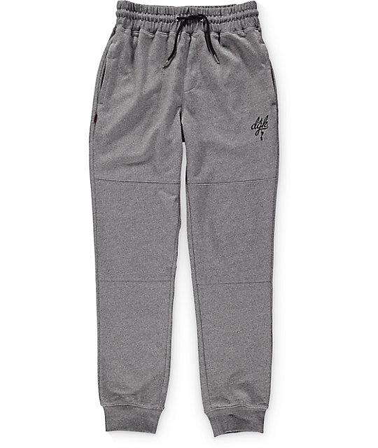 DGK Schoolyard Grey Fleece Sweatpants