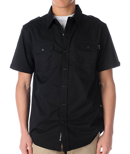DGK Second Division Short Sleeve Woven Shirt