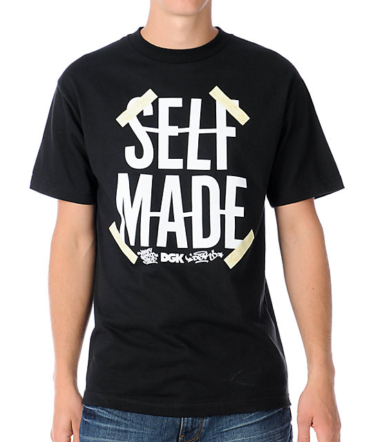 DGK Self Made Black T-Shirt