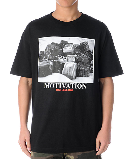 DGK Stacks Black T-Shirt