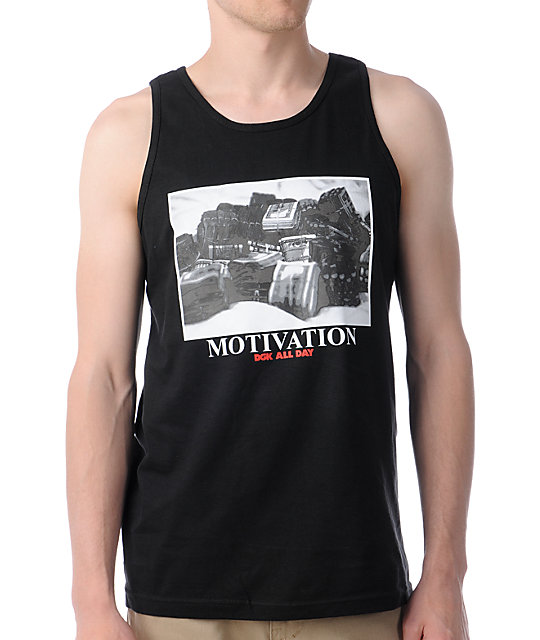 DGK Stacks Black Tank Top