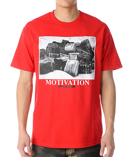 DGK Stacks Red T-Shirt
