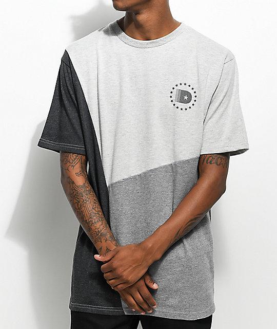 DGK Starline Grey & Charcoal T-Shirt